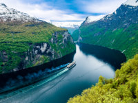 Блог Павла Аксенова. Норвегия. Geiranger fjord, Norway. Фото cookelma - Depositphotos