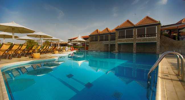 Клуб путешествий Павла Аксенова. ОАЭ. Эмират Дубай. JA Hatta Fort Hotel. Gazebo Pool