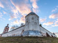 Переславль-Залесский. Горицкий Успенский монастырь. Goritsky Monastery of Dormition. Look on the Northeast watchtower. Pereslavl-Zalessky, Russia. Фото mosprofs - Deposit