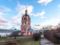 Goritsky Monastery of Dormition, it was based in the first half of the XIV century. Church of the Epiphany, 1750. Pereslavl-Zalessky, Russia. Фото mosprofs - Depositphotos