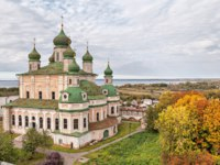 Переславль-Залесский. Горицкий Успенский монастырь. Goritsky monastery of the assumption in Pereslavl Zalessky, Yaroslavl Region, Russia. Фото bbsferrari - Depositphotos