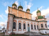 Переславль-Залесский. Горицкий Успенский монастырь. Goritsky Monastery of Dormition. Cathedral of the Dormition. Pereslavl-Zalessky, Russia. Фото mosprofs - Depositphotos