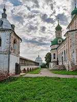 The Golden ring of Russia, Goritsky monastery, founded in the 14th century, the town of Pereslavl-Zalessky. Фото Simanovskiy - Depositphotos