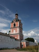 Russia, Yaroslavl region, Pereslavl. Goritskii monastery. Church of the Epiphany with a bell tower. Golden ring of Russia. Фото Alesem - Depositphotos
