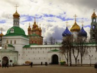Сергиев Посад. The Trinity Lavra of St. Sergius is the most important Russian monastery and the spiritual centre of the Russian Orthodox Church. andreiorlov-Deposit