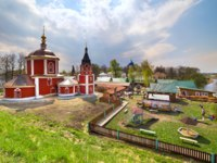 Суздальский Кремль. Church of the Assumption of the Blessed Virgin Mary in Suzdal. Church of the Assumption refers to a rare in Suzdal Naryshkin baroque. Фото ol