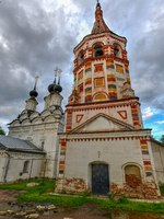 Россия. Суздаль. Антипиевская церковь. Antipievskaya and Lazarevskaya churches in Suzdal (historic small town in Vladimir region). Фото demerzel21-Deposit