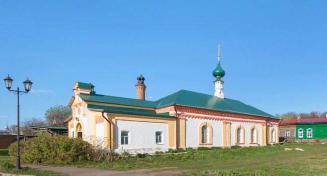 Золотое кольцо России. Суздаль. Church of the Nativity of Christ, 1772. Suzdal, Vladimir Region, Russia. Фото Belikart - Depositphotos