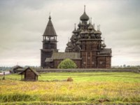 Клуб путешествий Павла Аксенова. Россия. Карелия. Остров Кижи. Church of the Resurrection of Lazarus. Фото ppl1958 - Depositphotos