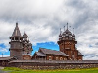 Клуб путешествий Павла Аксенова. Россия. Карелия. Остров Кижи. The Church of the Transfiguration on Kizhi island. Фото medvedevaoa.bk.ru - Depositphotos