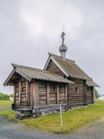 Россия. Карелия. Остров Кижи. Historical site dating from the 17th century on Kizhi island, Russia. Church of the Resurrection of Lazarus. Фото borisb17-Deposit