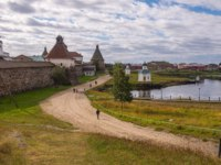 Клуб Павла Аксенова. Россия. Соловецкие острова. The road to the monastery (16th century). Big Solovetsky Island, Russia. Фото A_Mikhail-Depositphotos