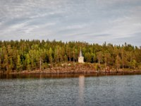 Клуб путешествий Павла Аксенова. Россия. Карелия. Остров Валаам. Chapel among the trees on the island of Valaam. Фото liga22-Depositphotos