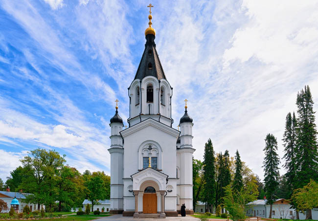 Карелия. Остров Валаам. Скит Всех святых. Skete of All Saints in the Valaam island, Karelia in Russia. Фото erix2005-Depositphotos