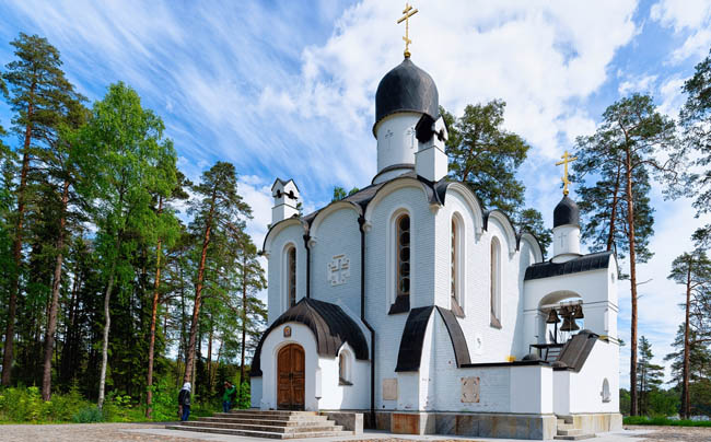Карелия. Остров Валаам. Смоленский скит. Skete of Smolensky in the Valaam, Karelia in Russia. Фото erix2005-Depositphotos
