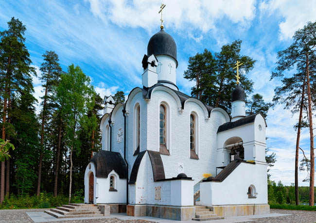 Карелия. Остров Валаам. Смоленский скит. Skete of Smolensky on the Valaam, Karelia in Russia. Фото erix2005-Depositphotos