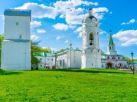 Музей-заповедник Коломенское. Kolomenskoye Manor boasts numerous historic, religious and archaeologic landmarks, Moscow. Фото efesenko-Depositphotos