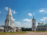 Россия. Москва. Музей-заповедник Коломенское. Church of the Ascension in The Landscape Museum-Reserve Kolomenskoye. Фото Observer-Depositphotos