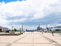 Россия. Город-герой Новороссийск. View of Forum Square of Embankment in Novorossiysk. Фото ekaterina.kriminskaya@gmail.com - Depositphotos