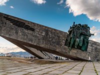 Новороссийск. Мемориал Малая земля. Monument to the defenders of Malaya Zemlya in the city of Novorossiysk. Фото gennadich-73.mail.ru - Depositphotos