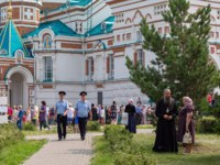 Омск. Religious procession in the city center, dedicated to the 1031th anniversary of the introduction of Christianity by Prince Vladimir in 988. Omsk. Фото ivashin45 - Deposi