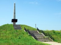 Military memorial of the soldiers of the Western and Reserve fronts Bogoroditskoe pole, the village of Bogoroditskoye, Smolensk. Фото potatushkina - Depositphotos