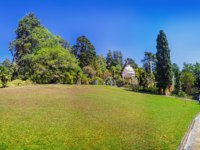 Россия. Сочи. Парк Дендрарий. Panoramic view of the Arboretum, Sochi, Russia. Фото Sivenkov - Depositphotos