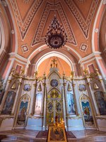 Россия. Санкт-Петербург. Чесменская церковь. Chesme Church interior view. Church of St John the Baptist. Фото pio3 - Depositphotos
