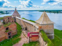 Крепость Орешек (Шлиссельбург). Fortress of Oreshek. Ladoga lake. Museums of Russia. St. Petersburg. Фото GrinPhoto - Depositphotos