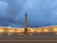 Россия. Санкт-Петербург. Панорама Дворцовой площади. Panorama of the Palace Square. St. Petersburg. Russia. Фото neiezhmakov - Depositphotos