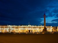 Россия. Санкт-Петербург. Панорама Дворцовой площади. Panorama of the Palace Square. St. Petersburg. Russia. Фото ivanukh - Depositphotos