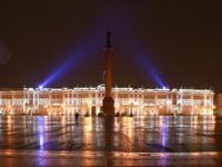 Россия. Санкт-Петербург. Панорама Дворцовой площади. Panorama of the Palace Square. St. Petersburg. Russia. Фото efesenko - Depositphotos