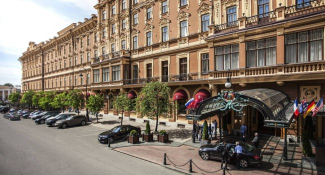 Россия. Санкт-Петербург. Гранд отель Европа. Belmond Grand Hotel Europe. Saint Petersburg. Russia