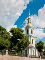 Россия. Санкт-Петербург. Никольский морской собор. The St. Nicholas Naval Cathedral. St. Petersburg, Russia. Фото nataly0288dp - Depositphotos