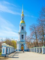 Россия. Санкт-Петербург. Никольский морской собор. The St. Nicholas Naval Cathedral. St. Petersburg, Russia. Фото efesenko - Depositphotos