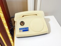 ГК Дворец конгрессов в Стрельне. Telephone for communication with the commandant's office of Russian President Vladimir Putin at the residence. Фото blinow61-D