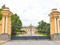 ГК Дворец конгрессов в Стрельне. Konstantinovsky Palace or Big Strelny Palace-an architectural monument of the XVIII century., Since 2003. CФото konstsem-Deposit