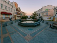 Россия. Владивосток. Улица Адмирала Фокина. Tourist street of Admiral Fokin in the city of Vladivostok. Russia. Фото PrimDiscovery - Depositphotos