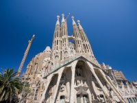 Барселона. Храм Святого Семейства (арх. А.Гауди). Sagrada Familia. Barcelona, Spain. Фото  Istvan Csak Depositphotos