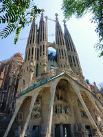 Барселона. Храм Святого Семейства (арх. А.Гауди). Sagrada Familia. Barcelona, Spain.Фото Elena Duvernay-Depositphotos