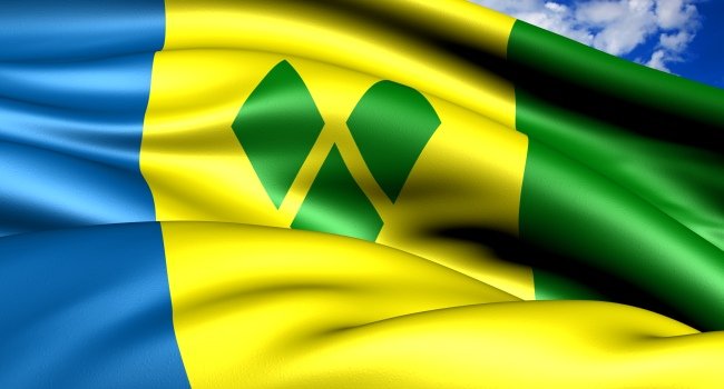 Клуб путешествий Павла Аксенова. Сент-Винсент и Гренадины. Flag of Saint Vincent and the Grenadines. Фото yuiyui - Depositphotos